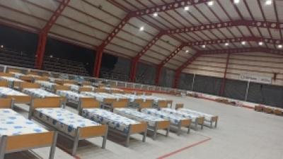 LA MUNICIPALIDAD DE POCITO AGREGO UN CENTRO MAS PARA PERSONAS EVACUADAS